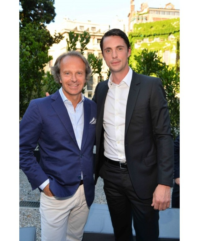 Matthew Goode, Hogan event in Milan, June 2013