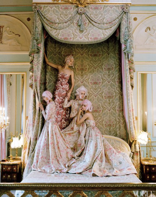 Vogue US, April 2012 by Tim Walker, Ritz Paris