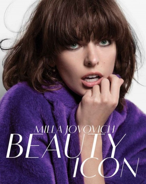 Milla Jovovich for Marella Fall 2013