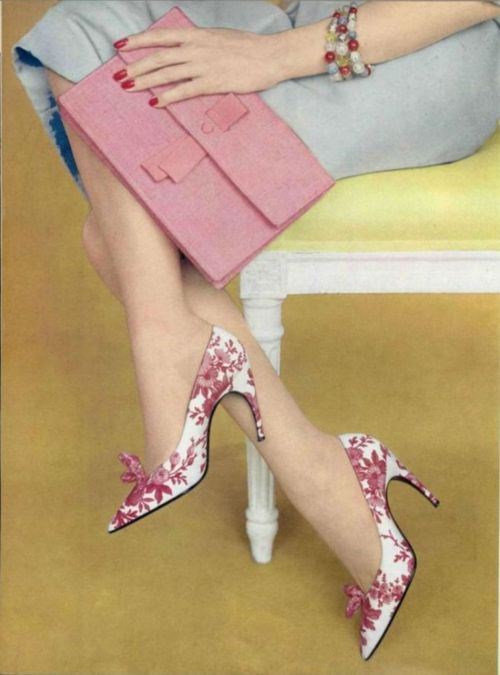 Roger Vivier, 1959 (L'Officiel de la Mode No. 447/448).