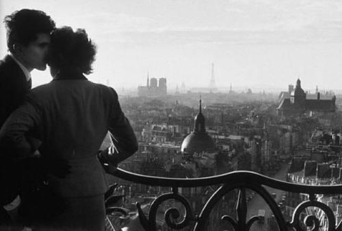 Willy Ronis, Les Amoureux De La Bastille, 1957