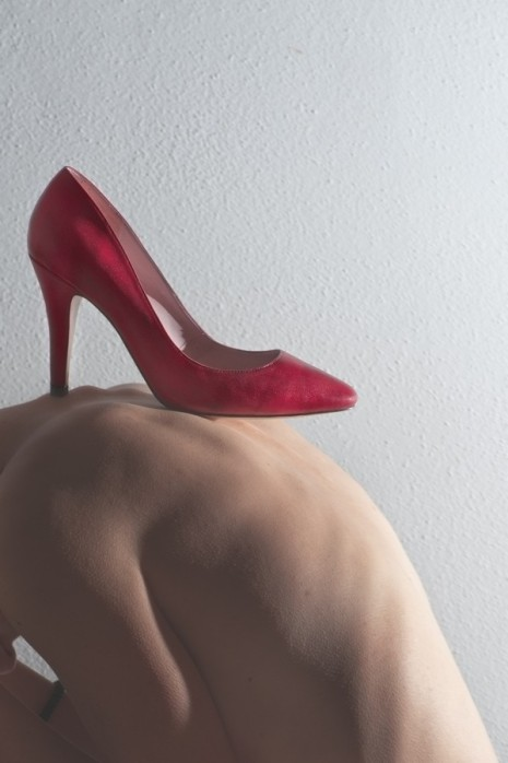 Wear Red Shoes Against Femicide