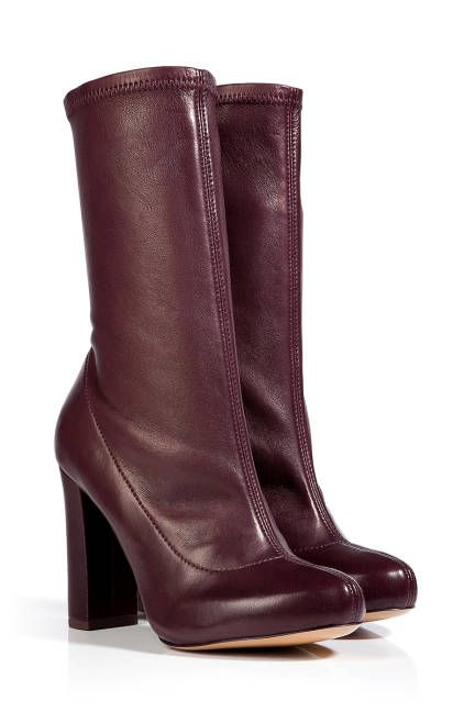 Chloè Mixed Leather Aniflex Boots