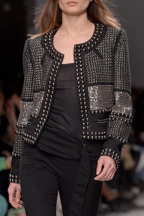 Janya Grommet Jacket by Isabel Marant Fall 2013