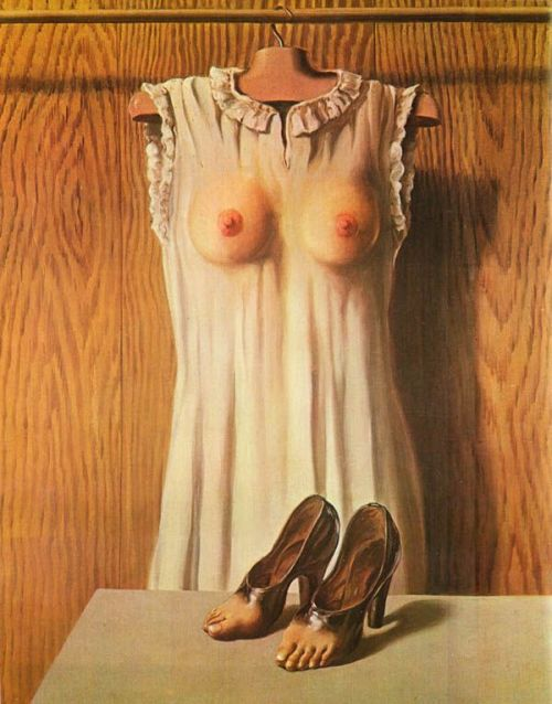 Renè Magritte, Philosophy InThe Boudoir, 1947