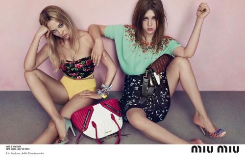 Miu Miu Ad Campaign Resort 2014
