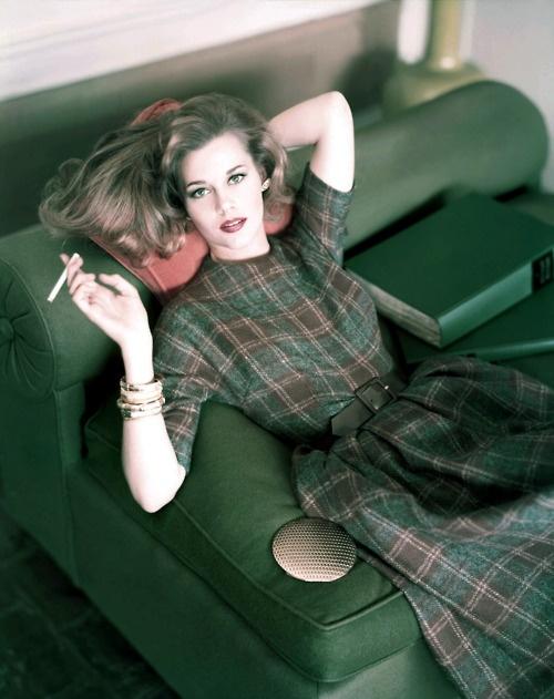 Jane Fonda by Horst for Vogue, 1959