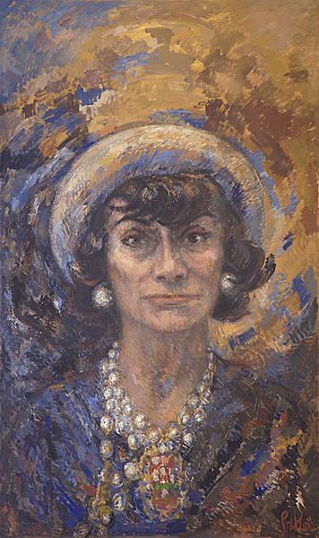 Marion Pike, Chanel- Big Head, 1967