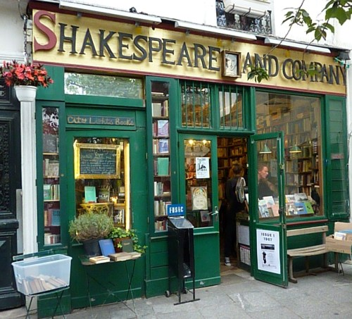 Shakespeare and Company Paris