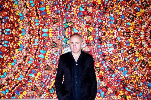 Damien Hirst and his Butterflies