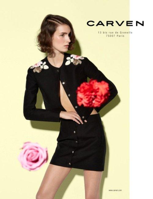 Carven Ad Campaign S/S 2014