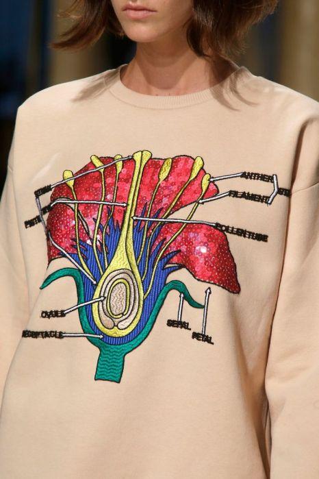 Christopher Kane Sweatshirt S/S 2014