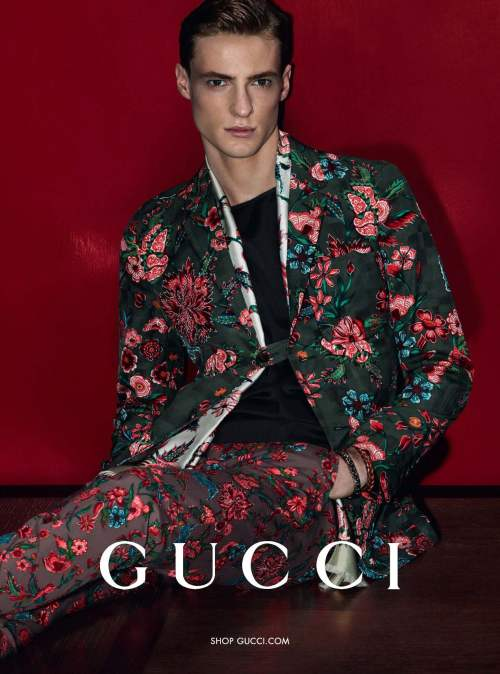 Gucci Ad Campaign S/S 2014 by Mert and Marcus