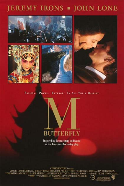 M Butterfly by David Cronenberg, 1993