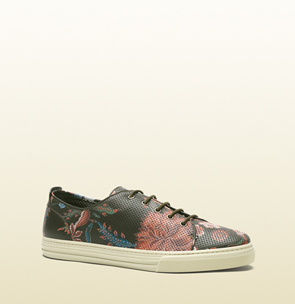 Gucci Floral Print Sneakers S/S 2014