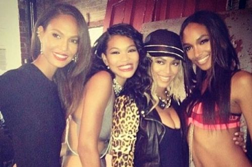 Joan Smalls, Chanel Iman, Beyonce, Jourdan Dunn