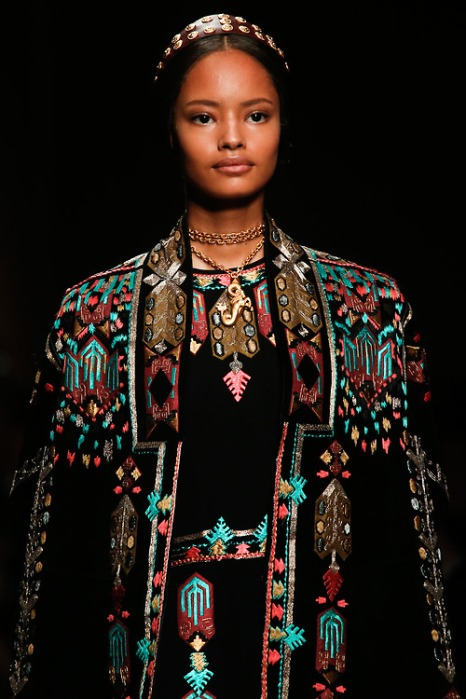 Malaika Firth for Valentino S/S 2014