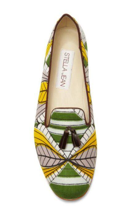 Stella Jean loafers, spring 2014