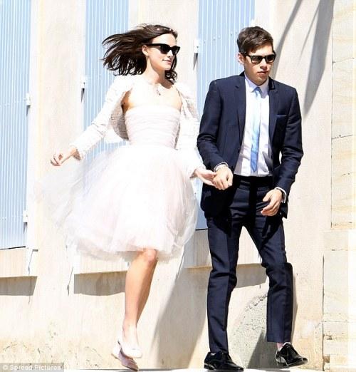 Keira Knightley Wedding 2013