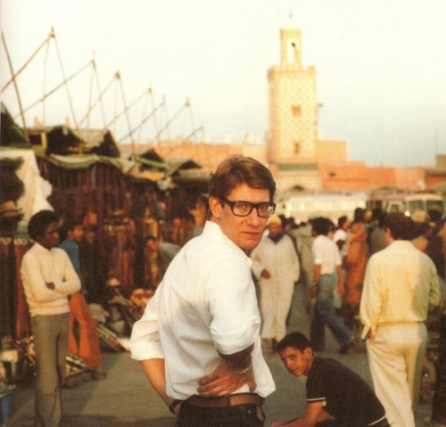 Yves Saint Laurent in Marrakesh