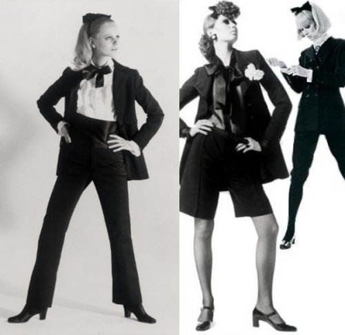 Le Smoking by Yves Saint Laurent, 1966