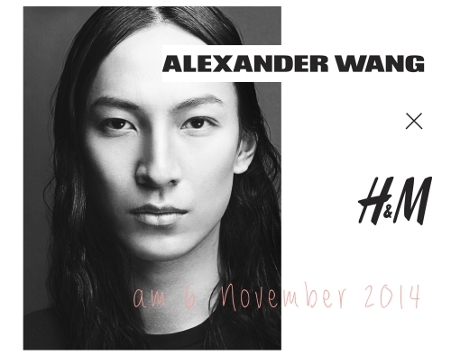 Alexander Wang for H&M, November 2014