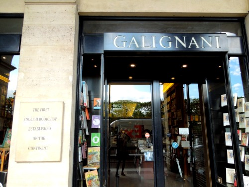 Galignani bookstore, Paris