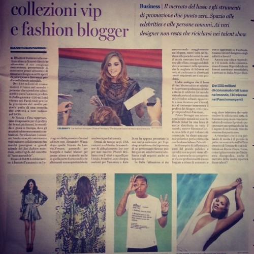 regram from mardou_ , my article on Pagina99, April 19th