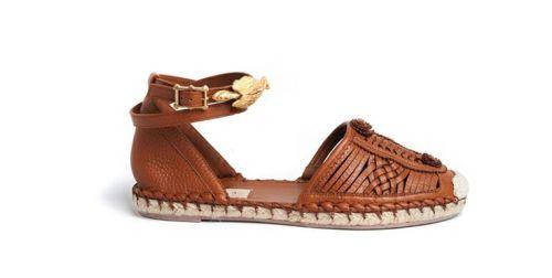 Valentino leather espadrillas S/S 2014