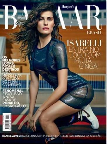 Isabeli Fontana by Fabio Bartelet, Harper's Bazaar Brazil, June 2014