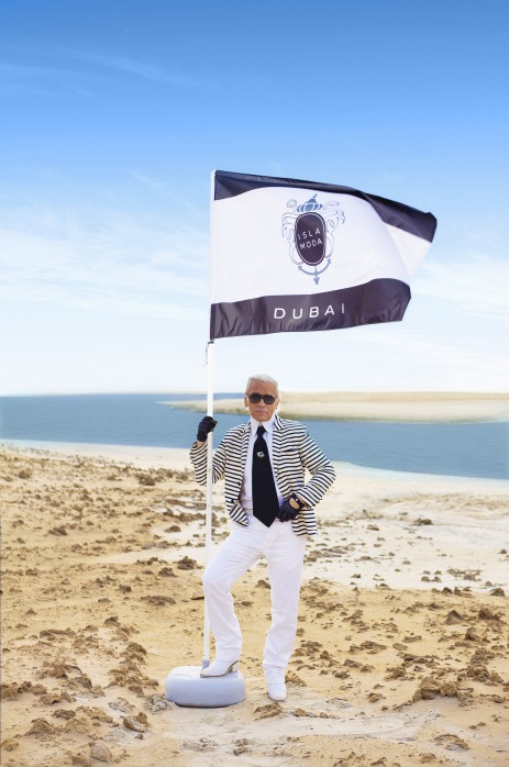 Karl Lagerfeld Dubai Fashion Show Resort 2015