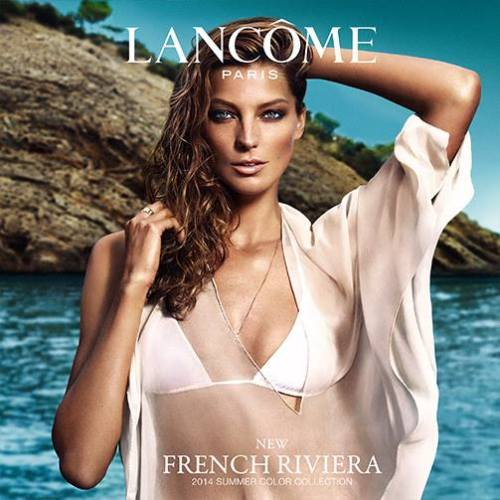 Daria Werbowy for Lancome French Riviela Collection S/S 2014