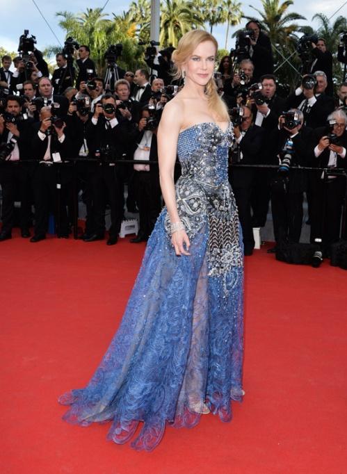 Nicole Kidman in Armani Privè, Cannes 2014