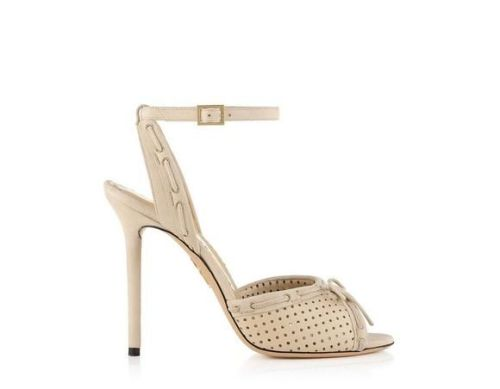 Speedy Sophia sandals by Charlotte Olympia S/S 2014