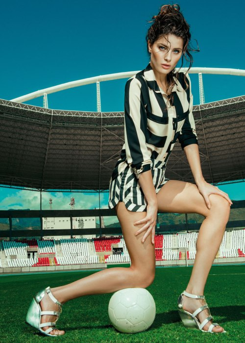 Isabeli Fontana for Morena Rosa shoes S/S 2014