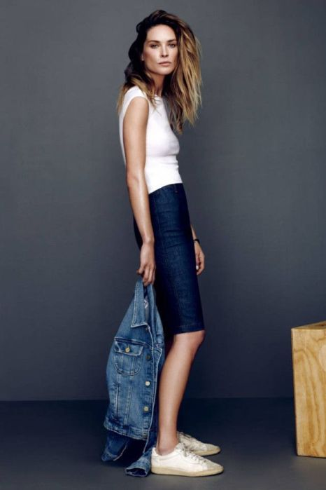 Erin Wasson for Frame Denim Spring 2014