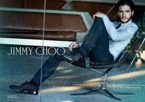 Kit Harrington for Jimmy Choo Fall 2014