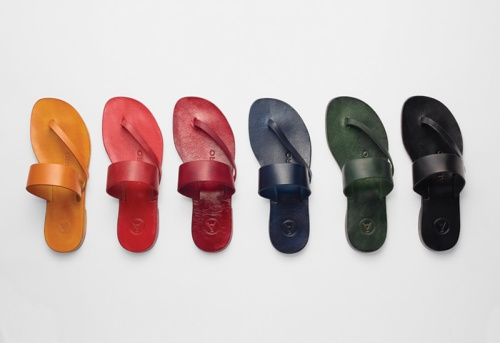 Alvaro Gonzalez calf leather sandals Summer 2014