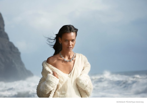 Liya Kebede for Monique Pèan, Iceland 2014