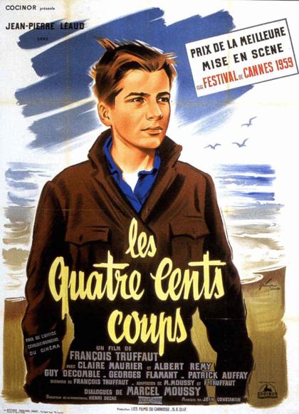 I Quattrocento Colpi, Francois Truffaut