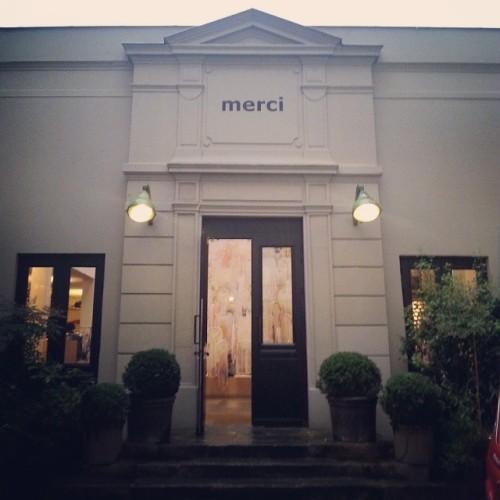 Merci boutique Paris