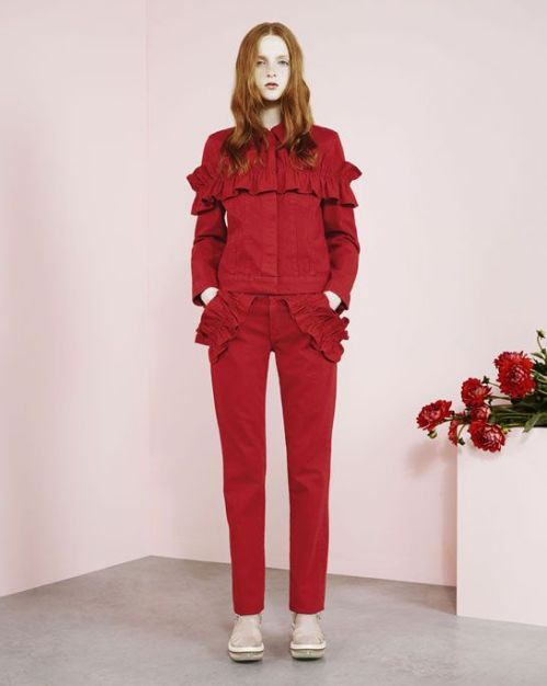 JBrand for Simone Rocha Fall 2014