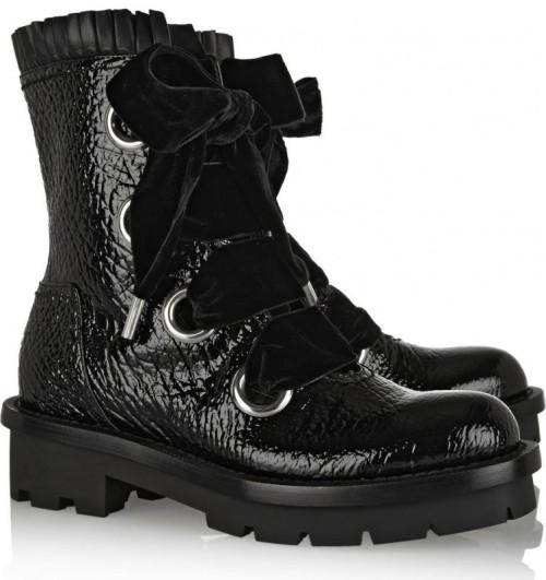 Alexander McQueen Boots Fall 2014