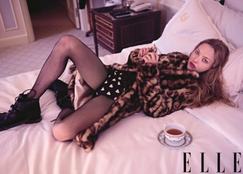 Amanda Seyfried for Elle US October 2013