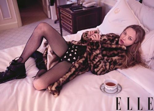 Amanda Seyfried for Elle US October 2013