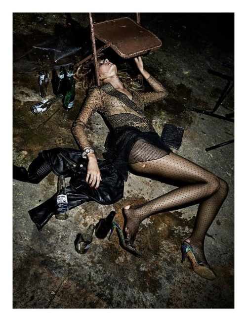 Edita Vilkeviciute for Interview Magazine by Fabien Baron