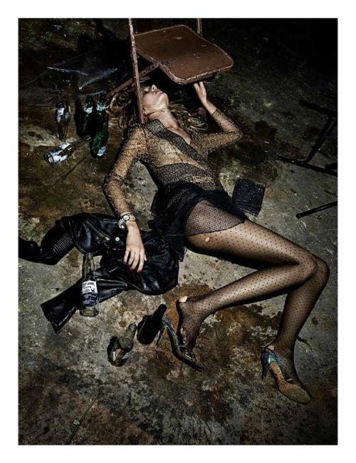 Edita Vilkeviciute for Interview Magazine by Fabien Baron