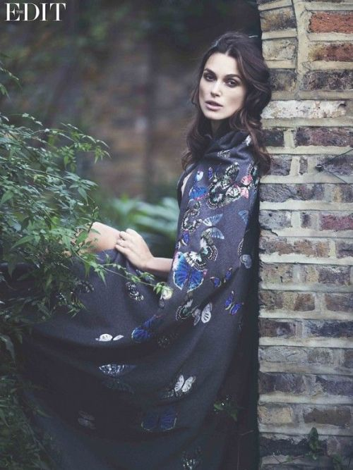 Kiera Knightley for The Edit Fall 2014