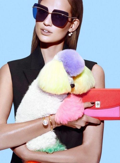 Dior Metallic Sunglasses Resort 2015