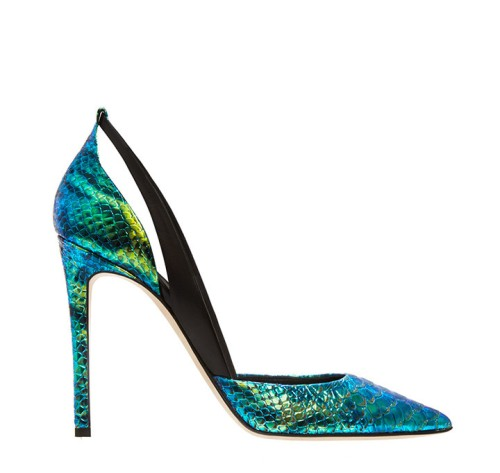 Flavia pointed toe d'orsay pump by Alejandro Ingelmo